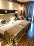 Cama, quarto, hotel 5 estrelas na Índia, Hotel Radisson Blu Agra