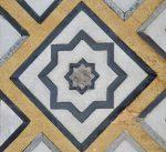 Detalhes do Taj Mahal, cidade de Agra na Índia