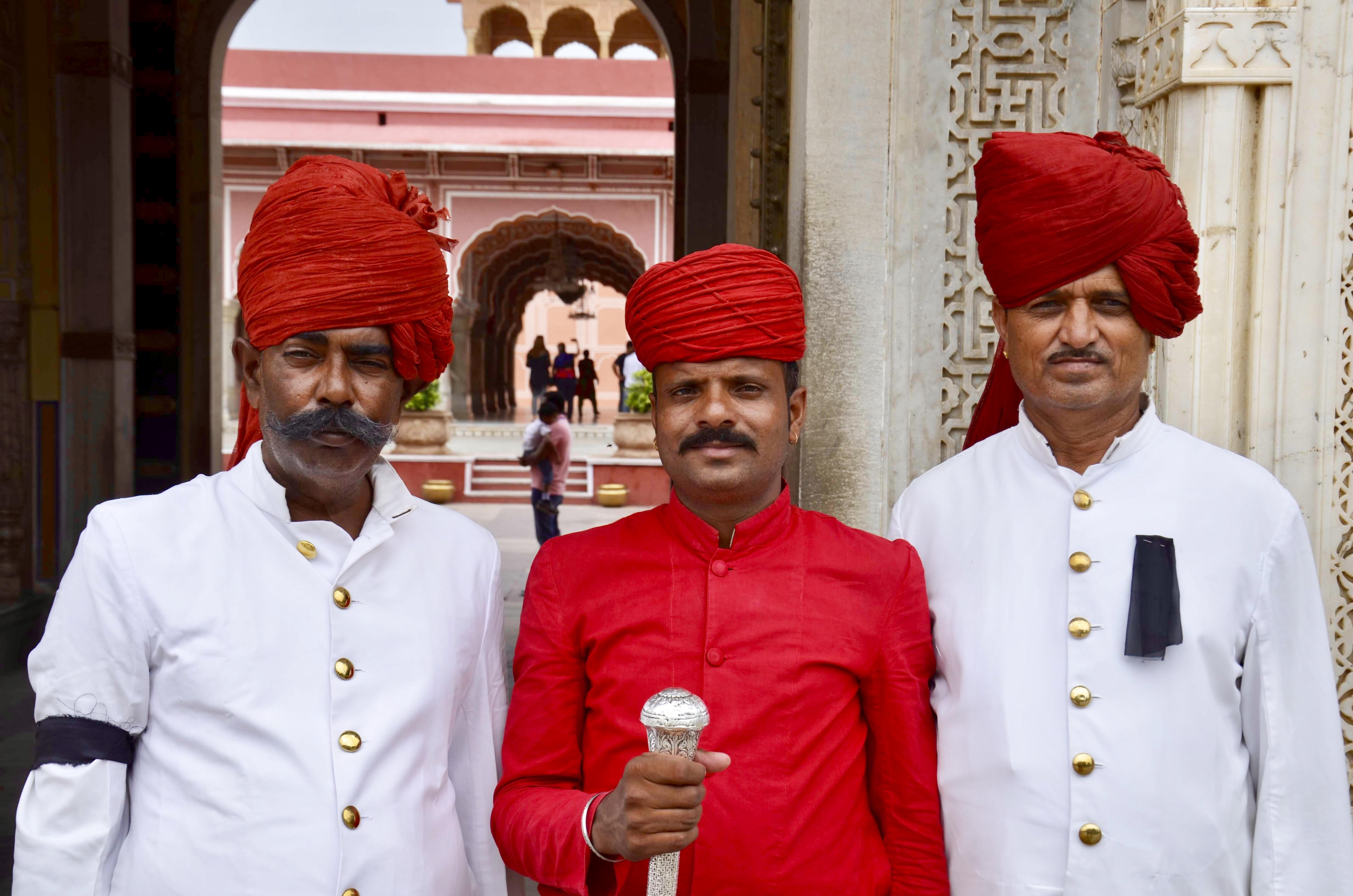 Guardas do Palácio Real de Jaipur, Jaipur Royal City Palace