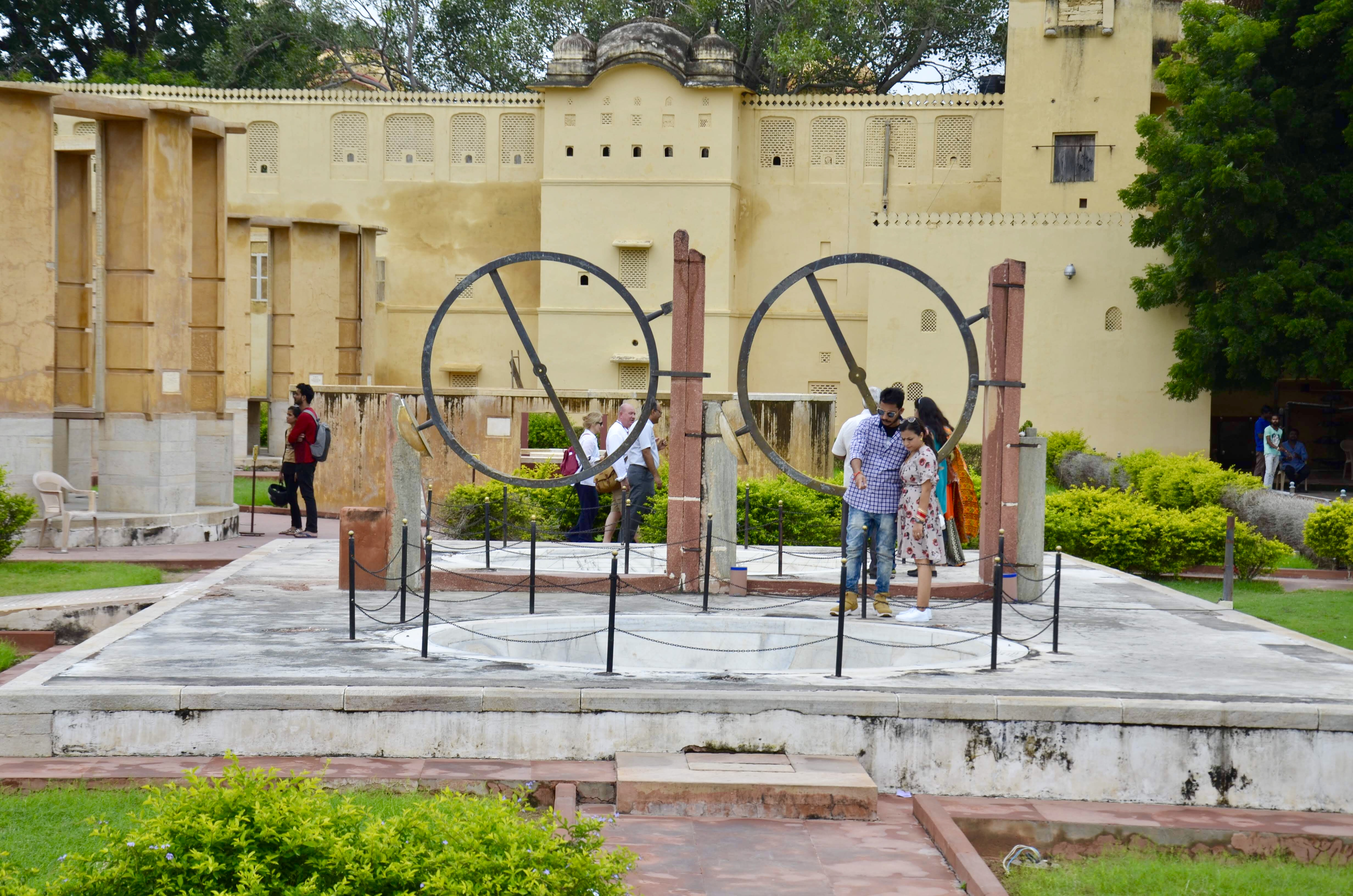 Observatório Astronômico Jantar Mantar em Jaipur