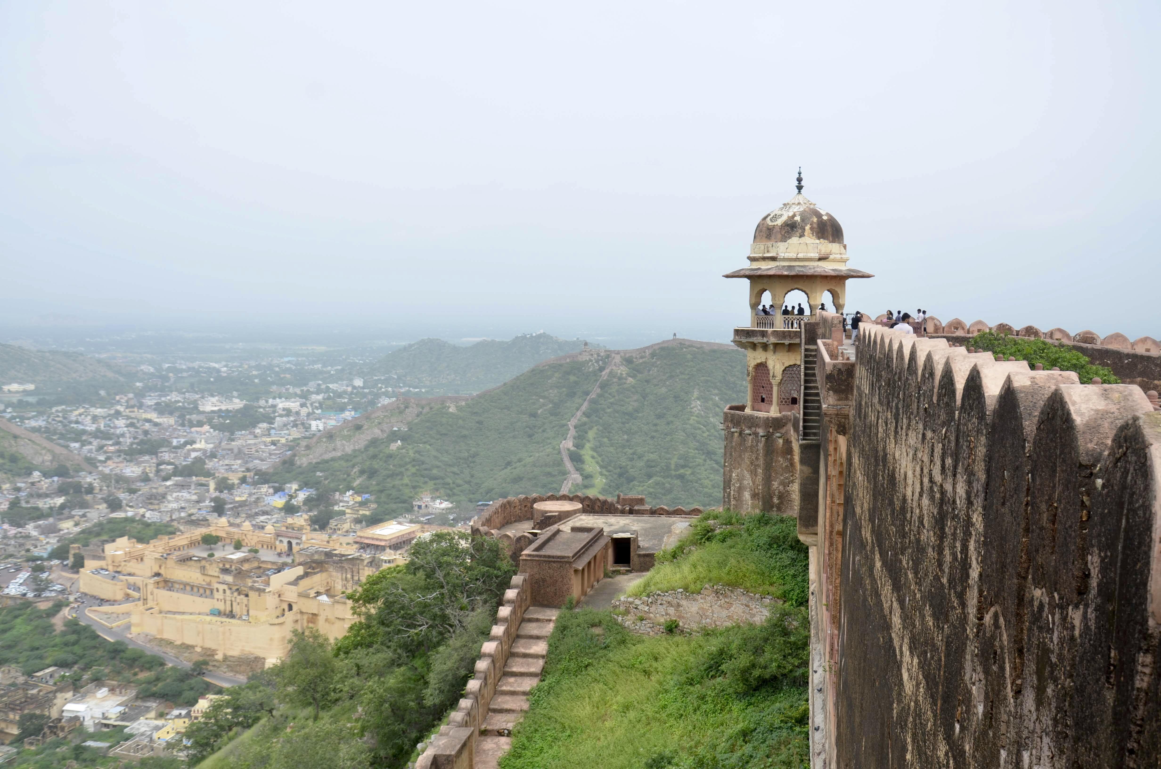 Forte Jaigarh em Jaipur na Índia