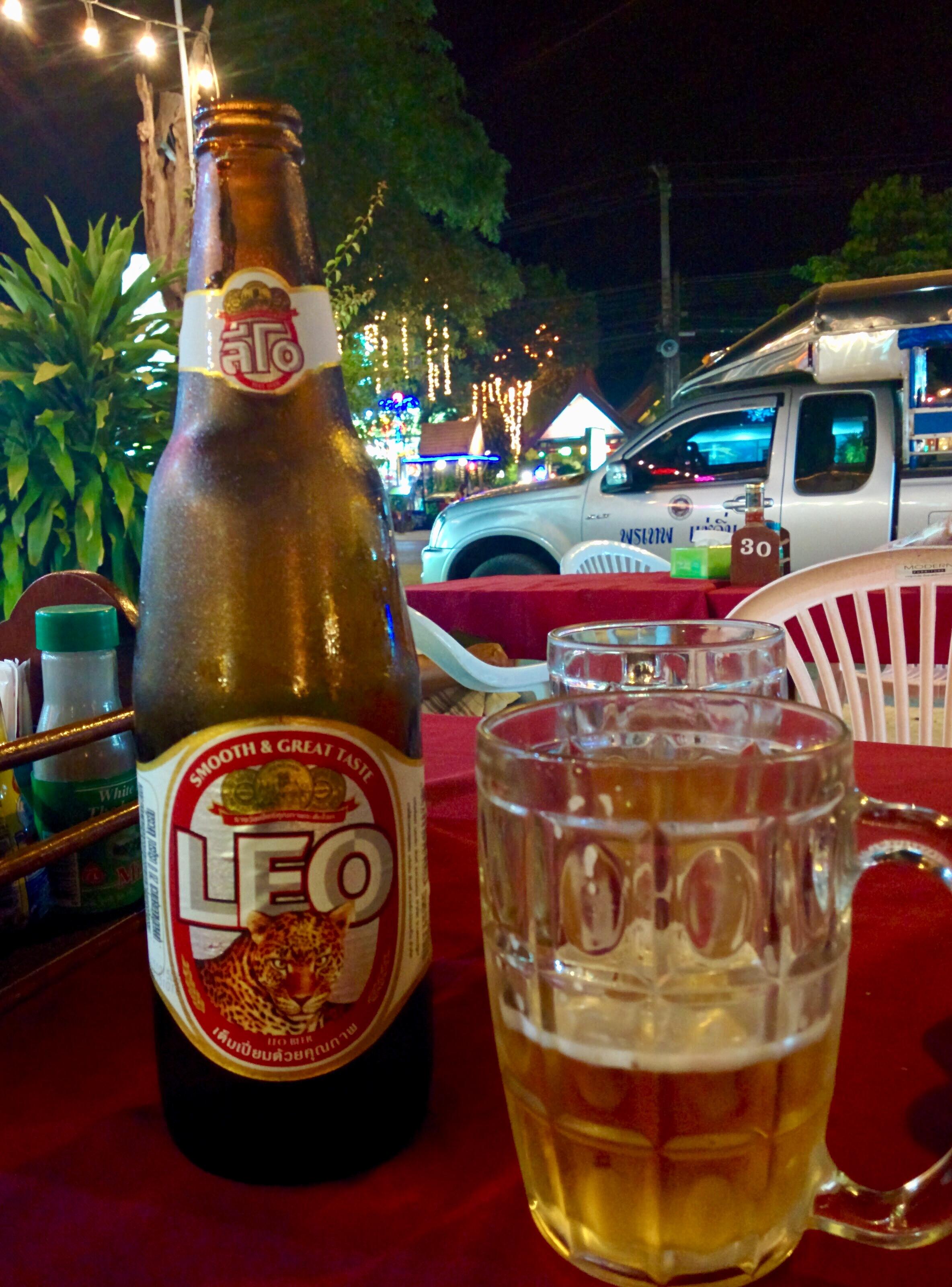 Leo Beer, cerveja