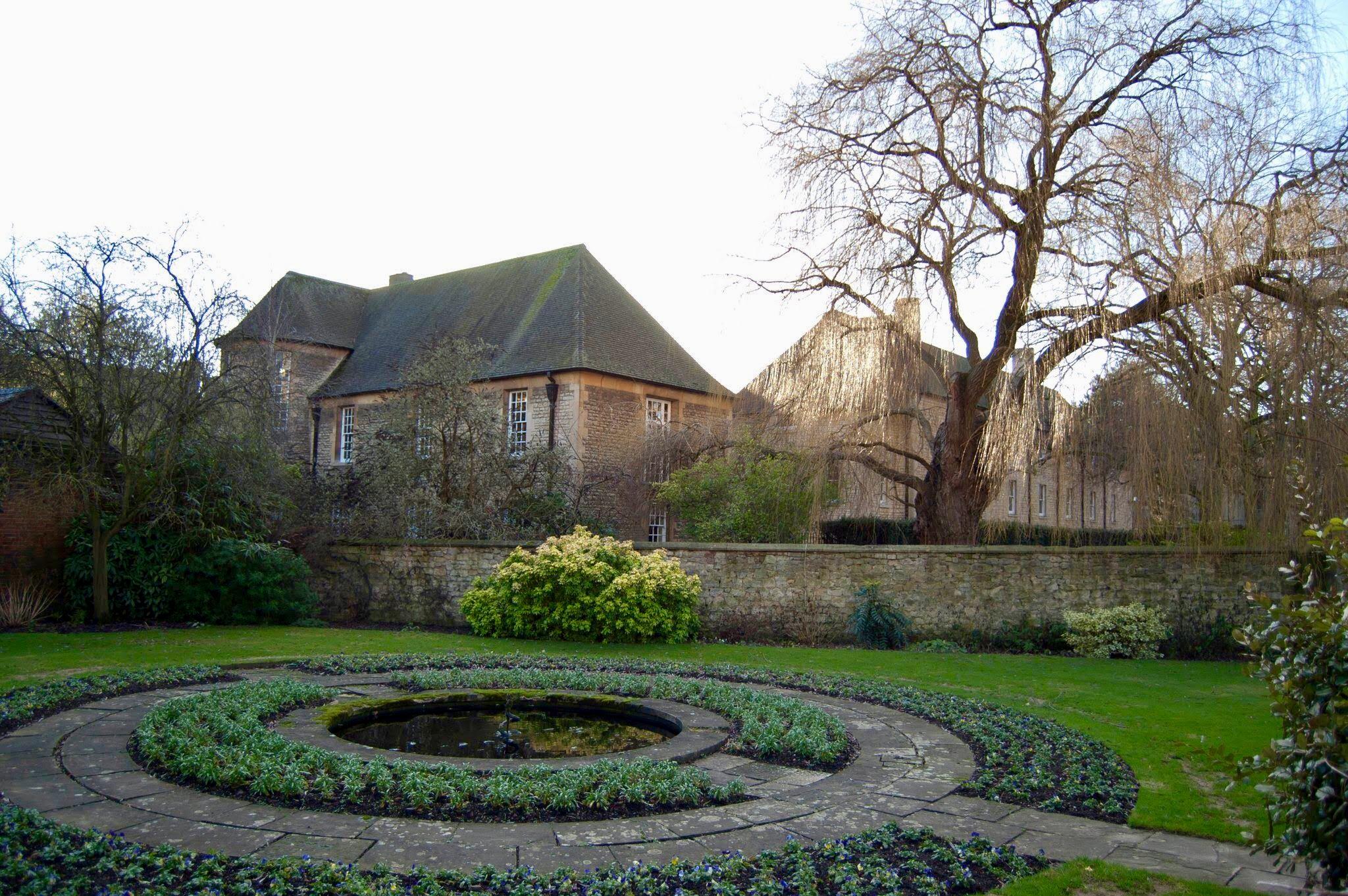 Christ Church College garden